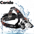 Adjustable Rechargeable Headlamp camping