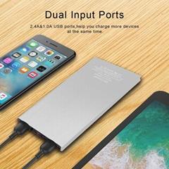 solar power bank portable mobile backup charger cellphone external battery