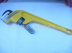 heavy duty angle style pipe wrench