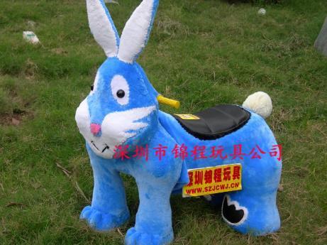毛绒电动玩具车9 5