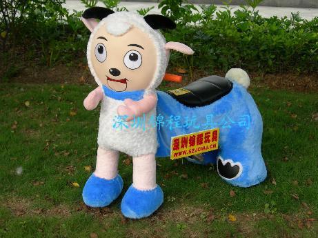 毛絨動物電瓶車 3