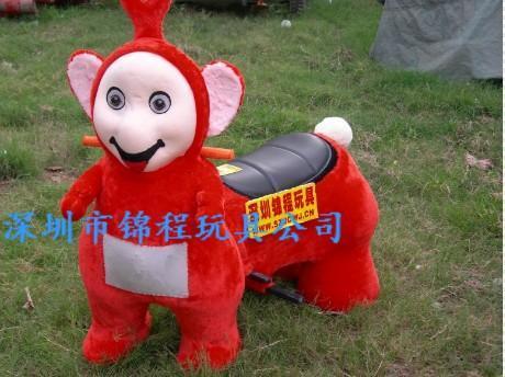 大憨熊小動物毛絨玩具車 1