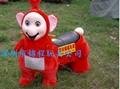 大憨熊小动物毛绒玩具车