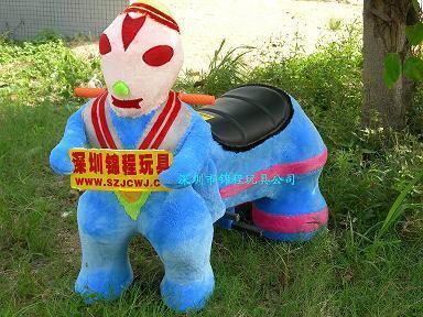 大憨熊小動物毛絨玩具車 2