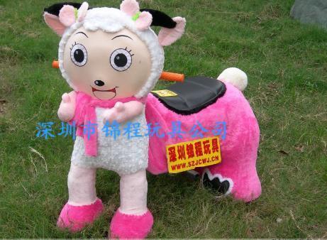 大憨熊小动物毛绒玩具车 3