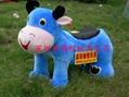 毛絨電動玩具車 2