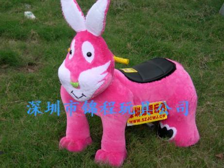 毛絨電動玩具車 5