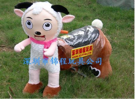 毛绒动物电动车2 5