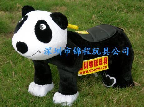 儿童電動毛絨玩具車 1