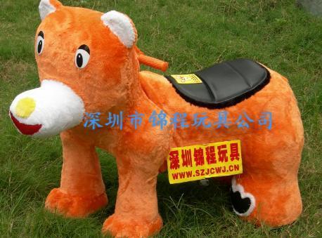儿童電動毛絨玩具車 2