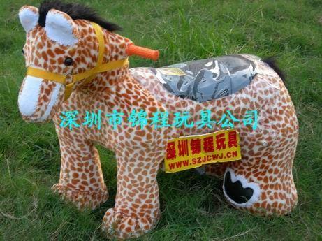 儿童電動毛絨玩具車 5