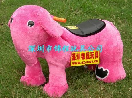 毛絨玩具動物電瓶車 2