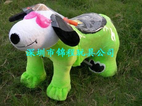 毛絨玩具動物電瓶車 3