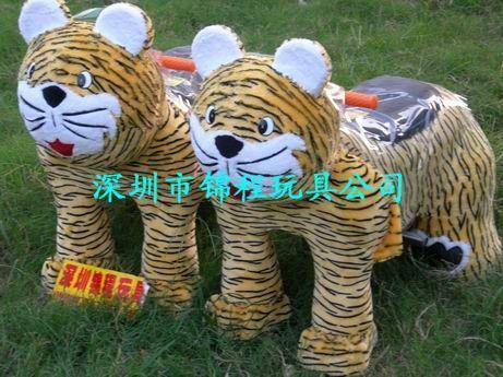 毛絨玩具動物電瓶車 4