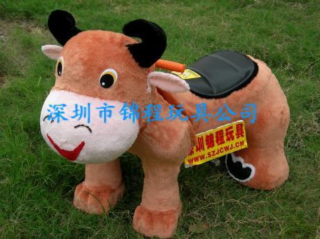 毛绒玩具动物电瓶车 5