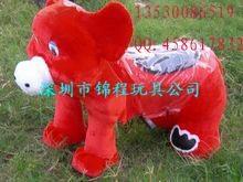 毛绒动物电动车 3
