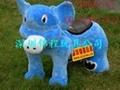 毛绒动物电动车 4