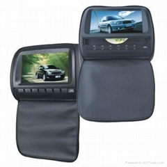 Hot product with 9 inch headrest car dvd