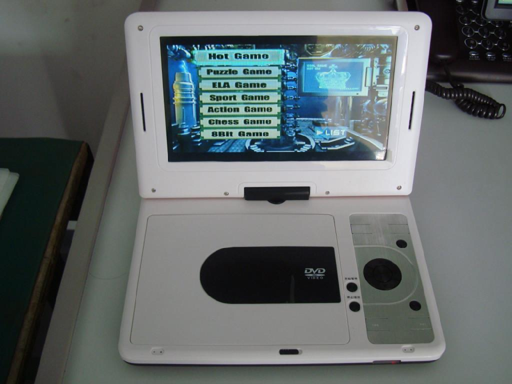 9 inch Portable DVD Player 3
