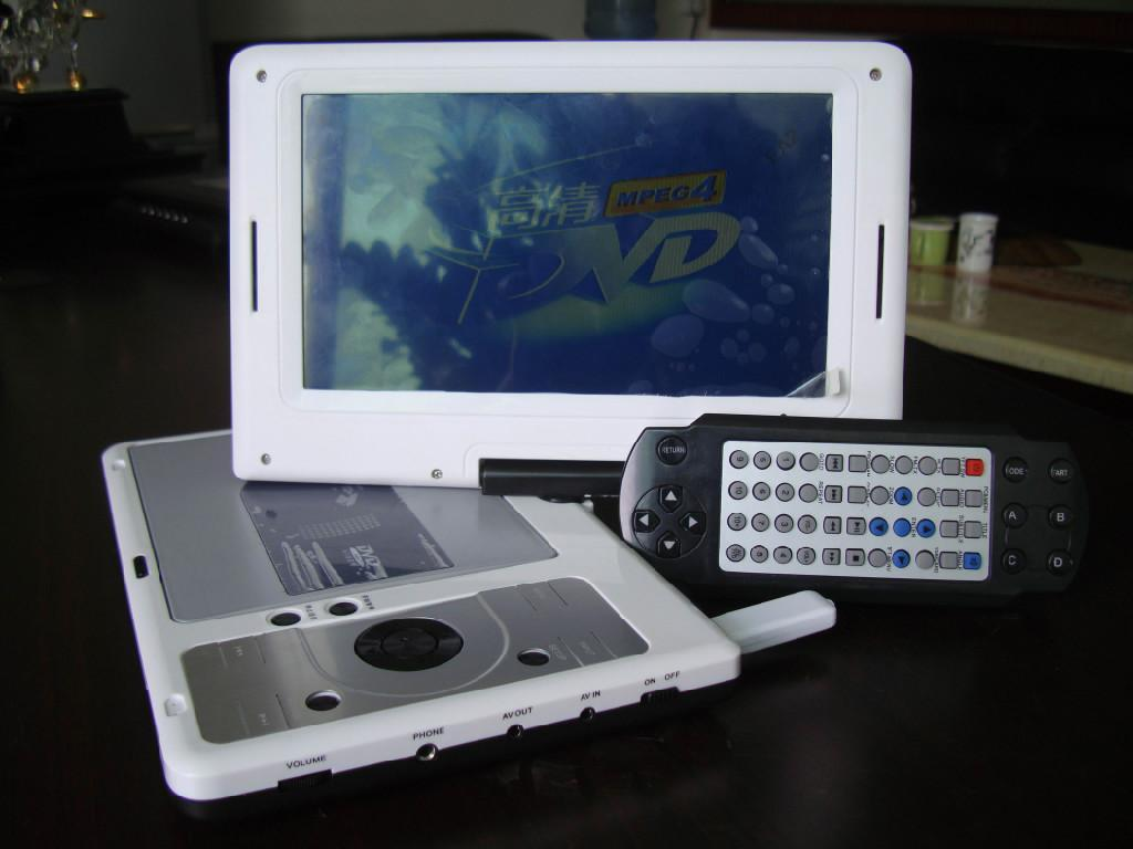9 inch Portable DVD Player 4