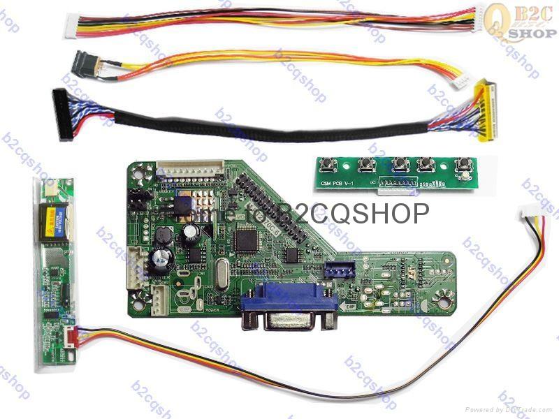 RT2270C.6(VGA) LCD Controller Board DIY Kit Inverter Keypad   Ds LCD LED driver
