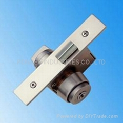 Mortise type dead bolt mechanical lock