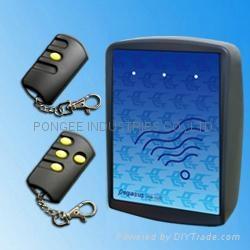 簡易型防拷貝滾碼遙控開門系統  1