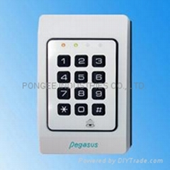 Waterproof access controller and time attendance recorder