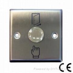开门按钮(不锈钢面板), 按键开关  , 按钮开关