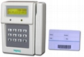 Barcode Card Time Attendance Recorder /
