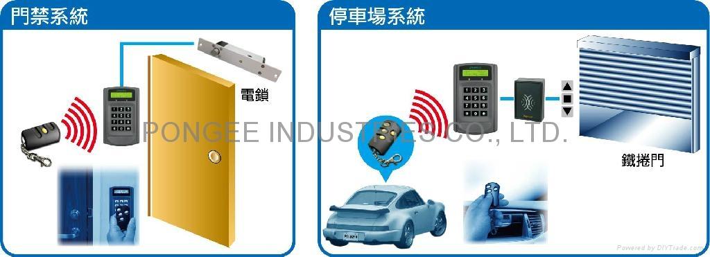 连线型滚码式遥控接收主机 / 控制器(内建RF接收器) 3