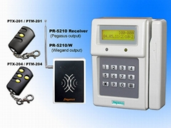 RF Remote Type Vehicle Access Control