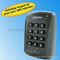 Waterproof time attendance recorder and access controller  1