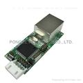 TCP/IP 网路转换器模组(