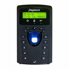Fingerprint & proximity card time recorder