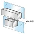 阳极锁辅助玻璃夹具