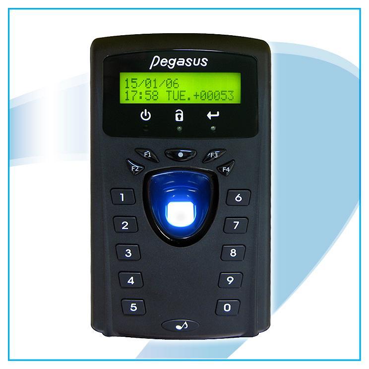 Fingerprint & proximity card time recorder 1