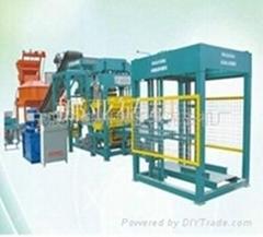 china supply QT6-15automatic cement brick machine