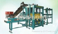 外贸出口QT4-10型液压免烧水泥砖机
