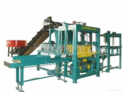 外貿出口QT4-10型液壓免燒水泥磚機