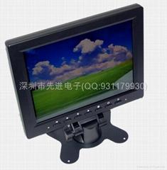 8寸多功能觸摸液晶顯示器