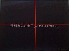 8寸工業儀器專用內帶十字線液晶顯示器