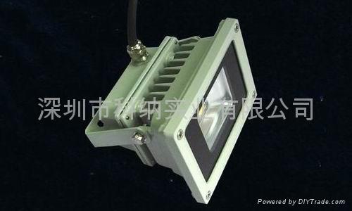 普瑞10W聚成大功率LED氾光燈 4