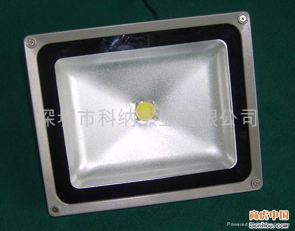 50W聚成大功率LED氾光燈 4