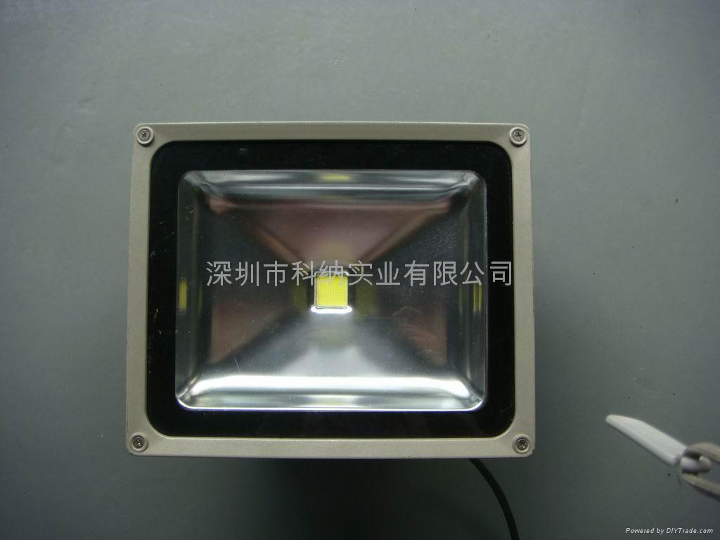 50W聚成大功率LED氾光燈 5