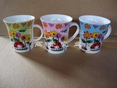 High-temperature ceramic cup