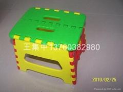 塑膠折疊凳