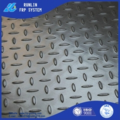 anti slip hight strength covered frp grating ISO9001 ABS SGS certificate