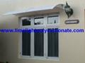 polycarbonate DIY awning window awning