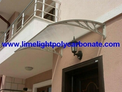 DIY awning window awning door canopy pc awning polycarbonate awning roof canopy